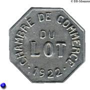 25 centimes - Chambre de Commerce - Lot [46] – avers
