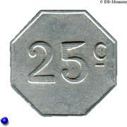 25 centimes - Chambre de Commerce - Lot [46] – revers