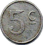 5 centimes - Chambre de Commerce - Lot [46] – revers