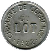 10 centimes - Chambre de Commerce - Lot  [46] – avers