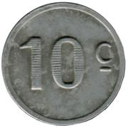10 centimes - Chambre de Commerce - Lot  [46] – revers