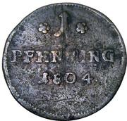 1 pfenning – revers