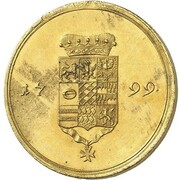 2 ducats Friedrich Karl – revers