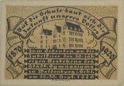 50 Pfennig Waldenburg i. Schl. – revers