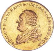 5 Thaler - Friedrich August I (Lübeck/Oldenburg) – avers