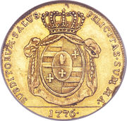 5 Thaler - Friedrich August I (Lübeck/Oldenburg) – revers