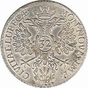 32 Schilling (⅔ Thaler - Gulden) – revers