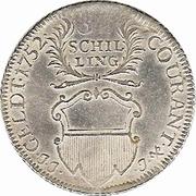 32 Schilling (⅔ Thaler - Gulden) – avers