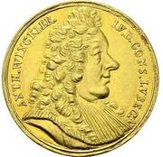 5 ducats Anton Winckler (Frappe essai en or) – avers
