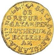 1 ducat (Bicentennaire de la Réformation) – revers