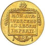 1 ducat – revers