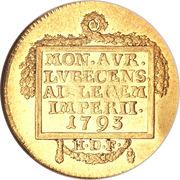 1 Ducat - Francis II – revers
