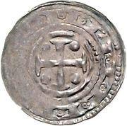 1 Pfennig - Friedrich I. – revers