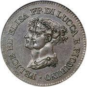 3 centesimi - Felice – avers