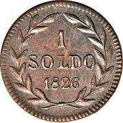 1 soldo - Carlo Ludovico I – revers