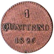 1 quattrino - Lucques – avers
