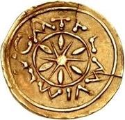 1 tremissis (avec roue divisant les pétales) – avers