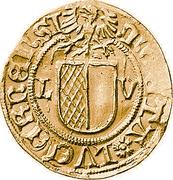 """Batzen """"Plappart-Batzen"""" (Gold strike) – avers"""