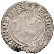 """½ Batzen """"Doppler"""" (Gothic shield; antiqua script) – avers"""