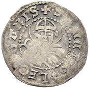 "½ Batzen ""Doppler"" (Gothic shield) – revers"