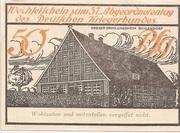 50 Pfennig (Lübeck; Landeskriegerverband) – revers