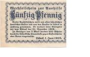 50 Pfennig (Wittingen) – revers