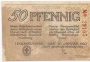 50 Pfennig (Lügumkloster) – avers