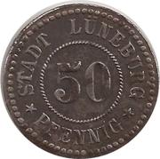 50 pfennig - Lüneburg – avers