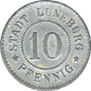 10 pfennig - Lüneburg – avers