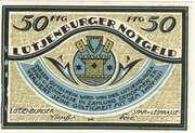 50 Pfennig (Lutjenborg; Spar-u-Leihkasse) – avers