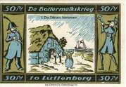 50 Pfennig (Lutjenborg; Spar-u-Leihkasse) – revers
