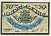 50 Pfennig (Lütjenburg; Spar- und Leihkasse) – avers