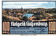 100 Pfennig (Lütjenburg) – avers