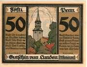50 Pfennig (Lunden  in Dithmrschen) – revers
