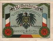 50 Pfennig (Lunderup) – avers