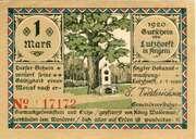 1 Mark (Lutzhoeft in Angeln) – avers