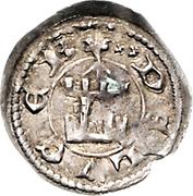 Denier - Henri VI  (au fleuron) – revers