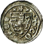 Denier - Henri VI (au globe) – avers