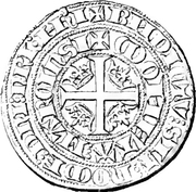 Plaque - Charles IV – revers