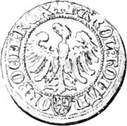 Tiers de Gros - Charles IV – avers