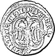 Demi-Gros - Henri VII – revers