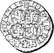 Esterlin Quart de Gros - Jean l'Aveugle – avers