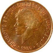 10 centimes - Charlotte -  avers