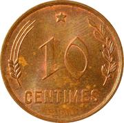 10 centimes - Charlotte -  revers
