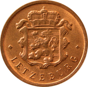 25 centimes - Bronze -  avers
