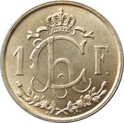 1 franc - Charlotte (Grand module) -  revers