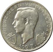 100 francs - Jean l'Aveugle – avers