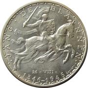 100 francs - Jean l'Aveugle – revers