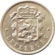 25 centimes - Charlotte (Aluminium) -  avers