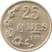 25 centimes - Aluminium -  revers